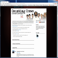 Indaba Counting Crows Contest